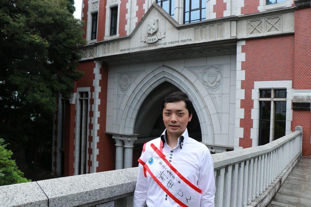 第3代塾生代表、前田じん(稔)さん